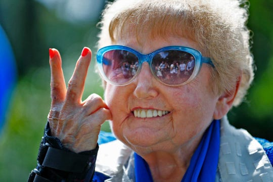 Holocaust survivor Eva Kor received worldwide acclaim when she publicly forgave the Nazis and devoted her time to educating others about the danger of eugenics and the Holocaust as well as the power of forgiveness. She died July 4, 2019, at the age of 85.