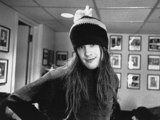 """Lafayette, Indiana, native and Blind Melon vocalist Shannon Hoon, 1967-1995, is the subject of upcoming documentary """"All I Can Say."""""""