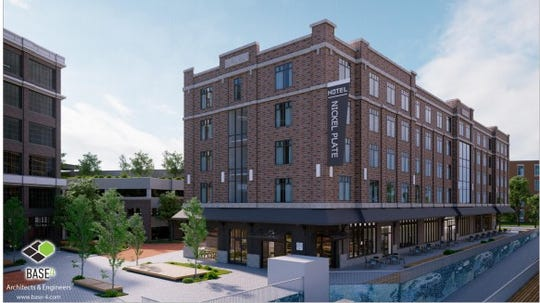 A boutique hotel is planned for 116th Street in Fishers.