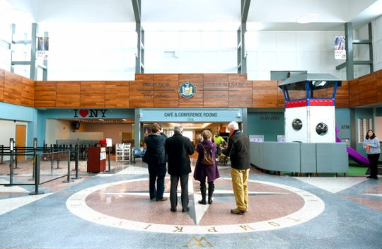 An expanded and modernized Ithaca Tompkins International Airport is open to travelers and the community. December 19, 2019.