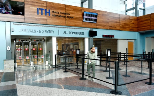 An expanded and modernized Ithaca Tompkins International Airport opened to travelers and the community in December. December 19, 2019.