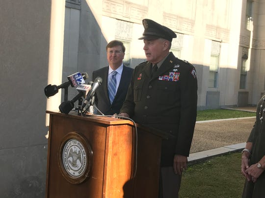 Gov.-elect Tate Reeves announced on Thursday, Dec. 12, 2019, that Maj. Gen. Janson D. Boyles will continue to be adjutant general of Mississippi.