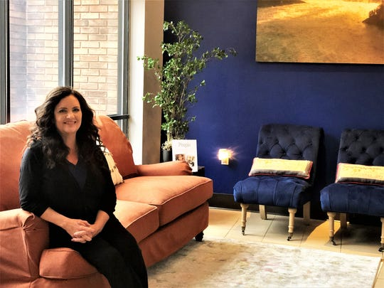 Allyson Harris, owner of The Retreat, in her new day spa location in Fountain City on Dec. 17, 2019.