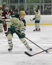 Dominic Rossi had two goals and one assist for Howell in a 7-6 loss to Plymouth.