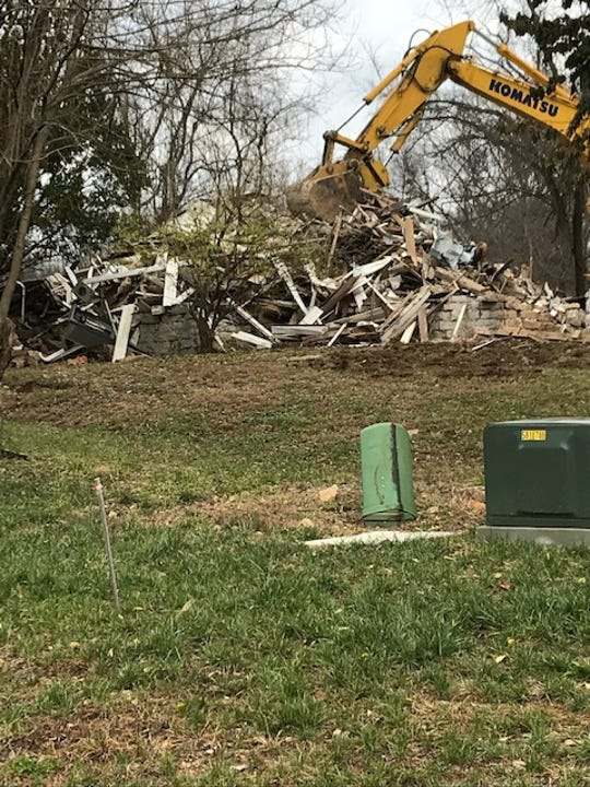 The Hoke House off Wolf Pen Branch Road in Prospect, Kentucky, was built in the 1800s. A local preservation group is appealing a Louisville landmarks commission decision to not designate it as a landmark and allow it to be demolished in November 2019.