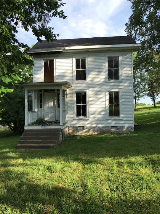 The Hoke House off Wolf Pen Branch Road in Prospect, Kentucky, was built in the 1800s and is seen before it was demolished in November 2019. A local preservation group is appealing a Louisville landmarks commission decision to not designate it as a landmark and allow it to be demolished.