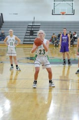 Clear Fork's Kali Weikle is a matchup problem for any team for the Lady Colts.
