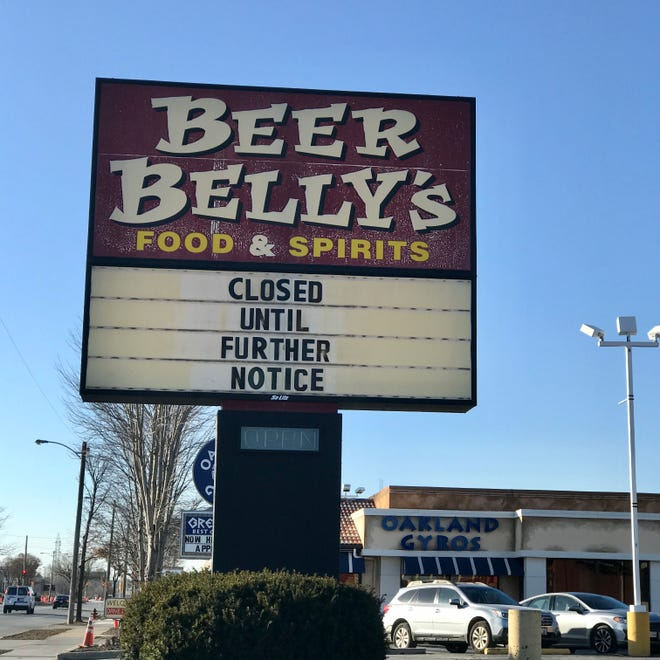 Beer Belly's, 512 W. Layton Ave., has changed hands and could reopen as soon as January. The pub has been a south side staple for 22 years.