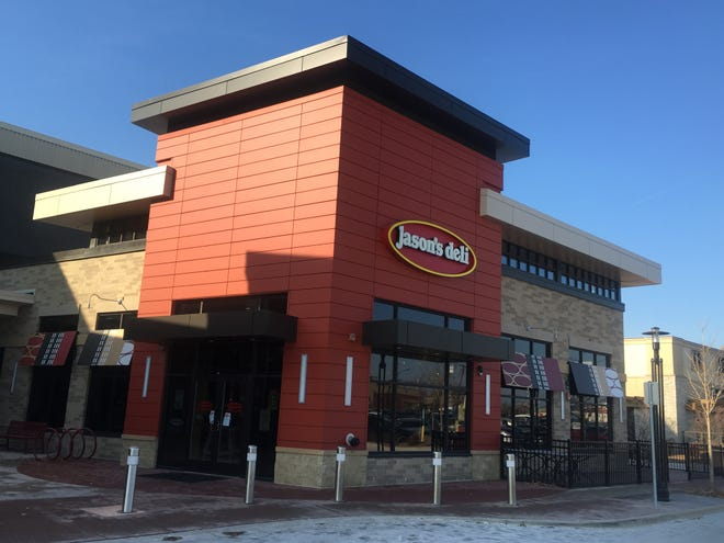 The last day in business for Jason's Deli at Brookfield Square is Dec. 31.