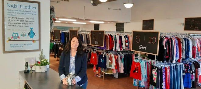 Sarah Fox-Paulson recently opened Kidz! Clothes in Oconomowoc.