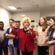 Rutherford County resident Brenda Lee sings her chart-topping 'Rockin' Around the Christmas Tree' with students at Stewarts Creek Elementary in Smyrna.
