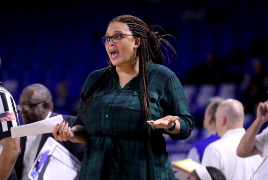 Shalon Pillow was hired as the women's basketball head coach at FAMU on May 28, 2020. She takes over the program after a five-year stint as an assistant at Middle Tennessee State.