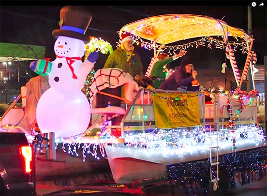 Best Business Float: Weichert Realtors for 'Tropical Christmas'. The 2019 Fairview Storybook Christmas Parade, Dec. 14, 2019.