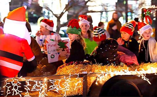 The 2019 Fairview Storybook Christmas Parade, Dec. 14, 2019.
