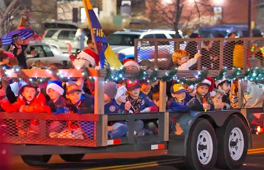 2019 Fairview Storybook Christmas Parade, Dec. 14, 2019.