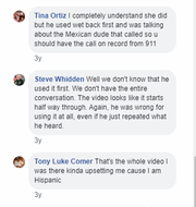 Hendry County Sheriff Steve Whidden's responds to a video showing a deputy using a racist slur.