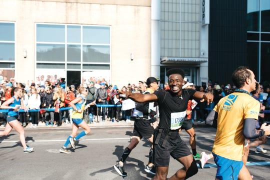Hellah Sidibe at the 2019 NYC Marathon