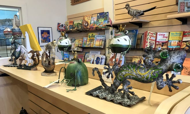 Shoppers can expect creatures of a southwest habitat at the Deming-Luna-Mimbres Museum gift shop.
