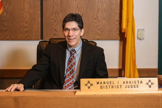 As Third Judicial District Court Chief Judge, Manuel Arrieta administers district and magistrate courts.