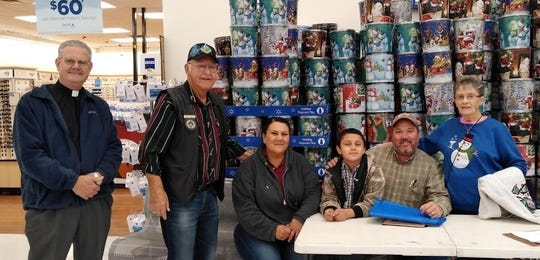 """This holiday season, 80-plus Grant County children were able to shop for the holiday seasonthanks to Grant County Masons. The annual """"Clothe A Child"""" event allocated $110 to each child, chosen by Grant County school nurses as a child in need. Grant County Masonic Relief, which is made up of the Hurley, Mimbres, and Silver City Masonic lodges, sponsored it. For information, contact a Mason near you or callBob Baker at 575-538-8561."""