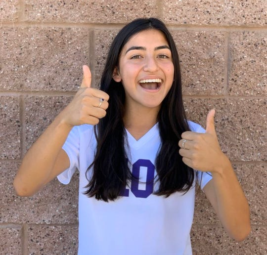 Citlaly Ponce of Shadow Hills girls' soccer