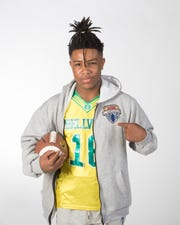 Ferry Pass Middle School eighth-grader Miequle Brock Jr., who plays for the Bellview Packers, has earned an invite to the Football University (FBU) Freshman All-American Bowlin December 2020.