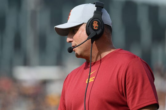 USC Trojans head coach Clay Helton is getting hammered for his 2020 recruiting class.