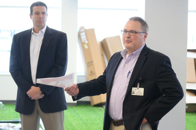Dru Meredith, vice president of operations at the Firelands Regional Medical Center discusses the addition of the Lee C. Jewett Sports Medicine Center.