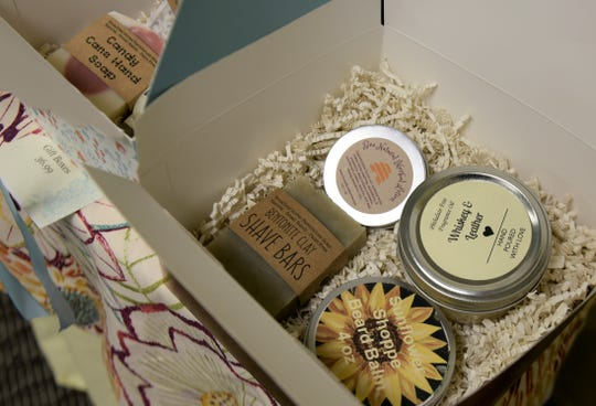 "Presentation of homemade gifts is important, according to Melissa Langford, quilter and owner of The Sunflower Shoppe in Mercersburg. ""Label your stuff if you make anything handmade that's going to be around for a while,"" she said."
