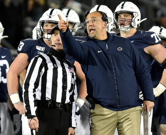 Penn State head football coach is apparently pointing his program's recruiting in a different direction -- one that extends far beyond the borders of Pennsylvania.