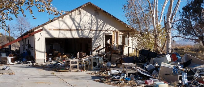 A Wellington property has been declared a public nuisance.