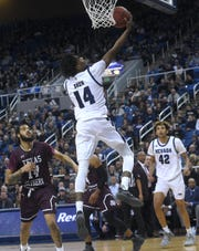 Nevada's Lindsey Drew has played in 128 games in his Wolf Pack career.