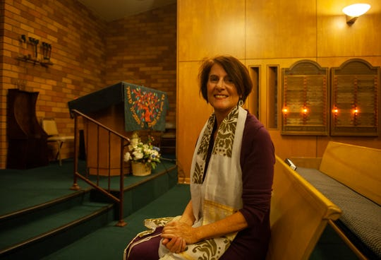"""Cantor Margaret Bruner was ordained in 2000 from Hebrew Union College Jewish Institute of Religion School of Sacred music. """"A cantor is like a singing rabbi. I lead the congregation,"""" Said Bruner."""
