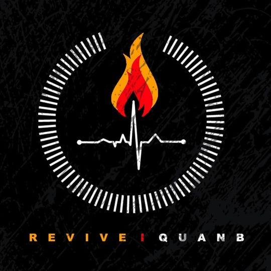 "Quan-B. (Hip-hop/Rap) ""Revive"" album, available on Apple Music and Google Play."
