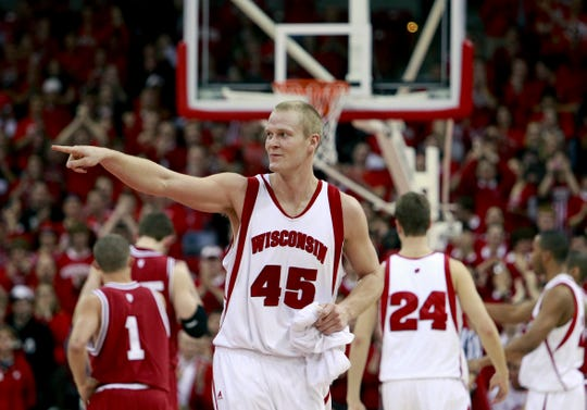 Joe Krabbenhoft starred at Wisconsin after playing for Sioux Falls Roosevelt.