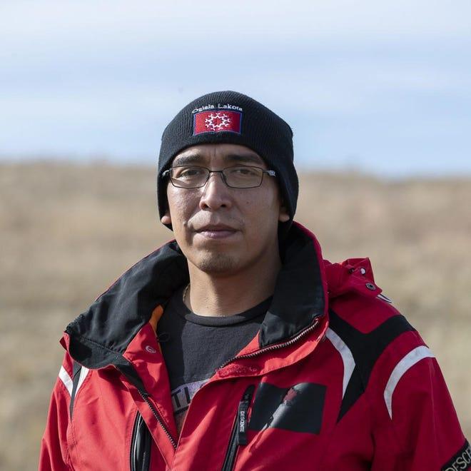 Julian Bear Runner, president of the Oglala Sioux Tribe.