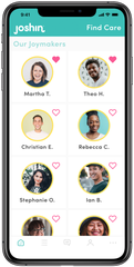 """Joshin helps families connect with """"joymakers,"""" who provide care for individuals with special needs. The app will launch in the St. Cloud market spring 2020."""