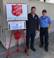 Vero Beach's Salvation Army chapter is hosting its second annual First Responder Day on Friday, Dec. 20. Local police and firemen are volunteering to help the charity meet its Christmas fundraising goal.