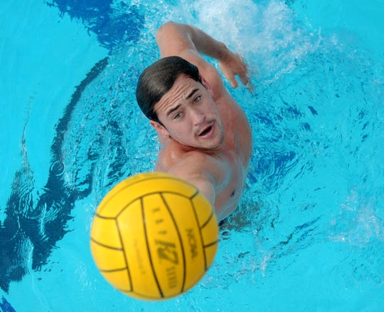 Oaks Christian senior Alika Naone has a big goal for his future in the pool — making the U.S. Olympic men's water polo team.