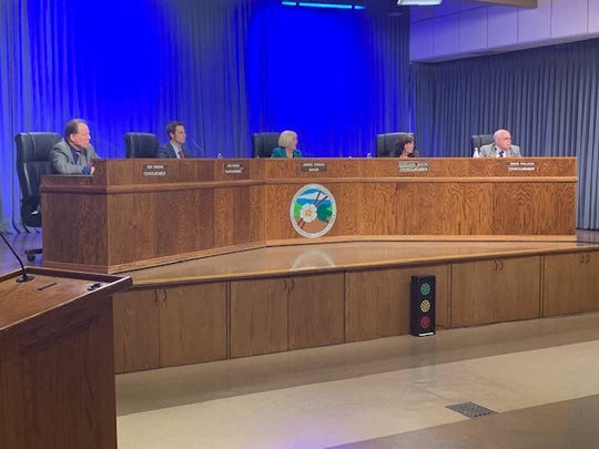 The Moorpark City Council Wednesday night unanimously adopted a 45-day urgency ordinance banning the cultivation, manufacturing, testing, storing and certain sales of industrial hemp in the city.