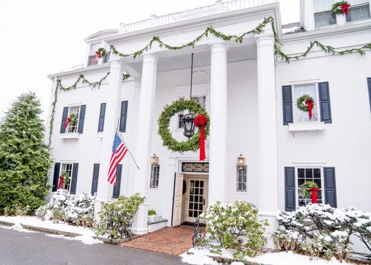 Crabtree's Kittle House in Chappaqua is decked out for the holidays.