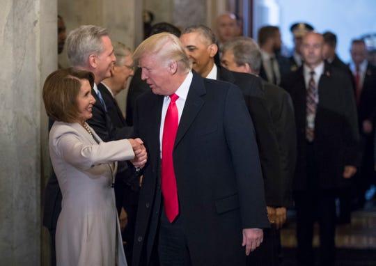 President Donald Trump and House Speaker Nancy Pelosi