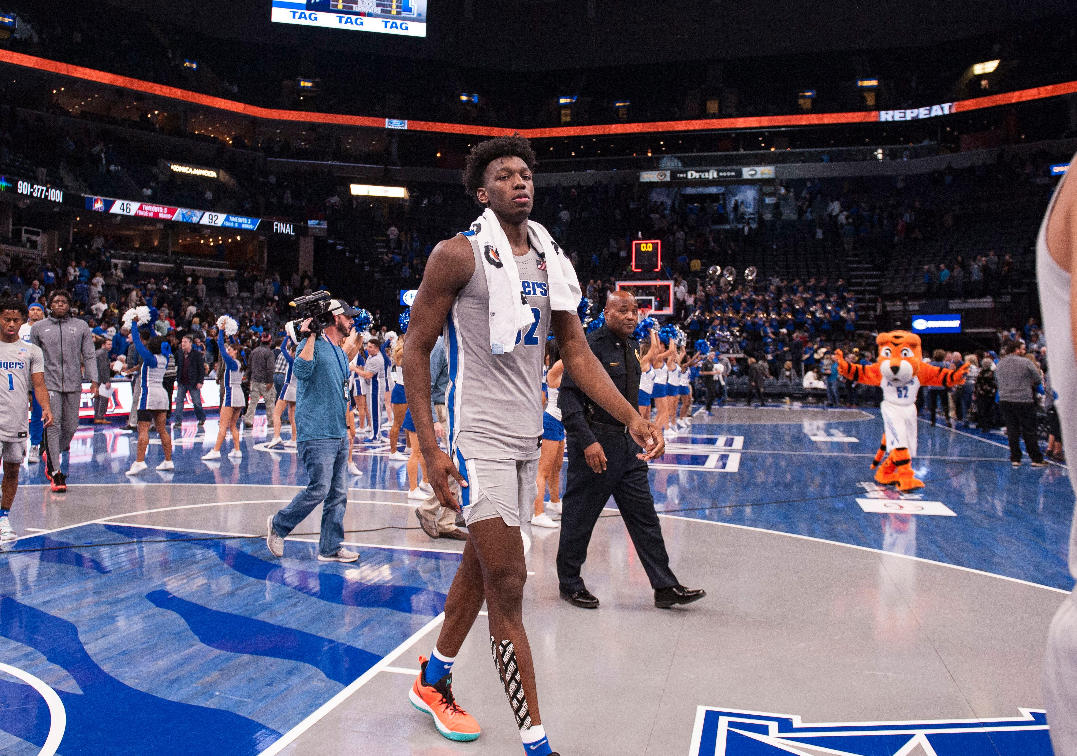 James Wiseman: Memphis star's departure another blow to tournament