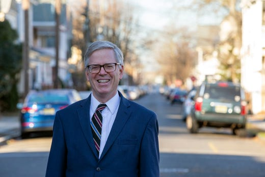 Michael Badger, president of Ocean Grove Camp Meeting Association, talks about ways to solve the problem with parking in Ocean Grove, NJ Friday, December 20, 2019.