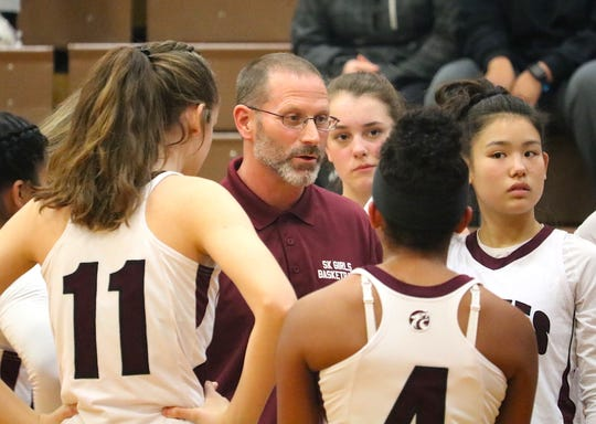South Kitsap girls basketball coach CJ Scott and the Wolves play in the T-Town Throwdown Dec. 26-28 at Wilson High School in Tacoma.
