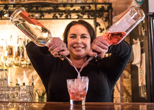 Tara Gillum opened Steiner's Speakeasy three months after the passing of her grandfather Benjamin Steiner and named the bar after him.