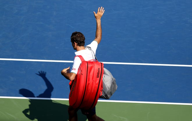 Roger Federer is a fan favorite at the Western and Southern Open. He always acknowledges the crowd even after losing to Andrey Rublev, 3-6, 4-6 in August.