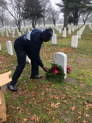 Somerset-based moving company Budd Van Lines assisted in the delivery of approximately 3,800 wreaths to Long Island National Cemetery for Wreaths Across America on Saturday, Dec. 14.