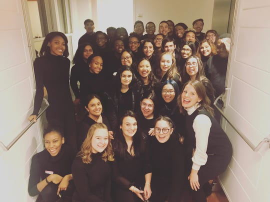 Piscataway High School Chorale Honors students performed at Carnegie Hall.