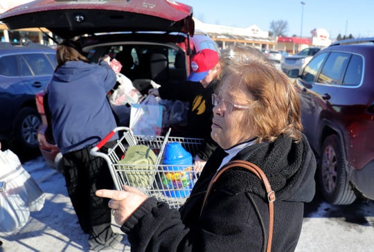 Billie Willavize talks about the last standing Kmart store in Marshall Mich. Thursday, December 19, 2019.